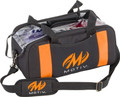 Motiv Clear View 2 Ball Double Tote Bowling Bag Black