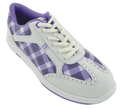 Brunswick Plaid Bowling Shoes Front