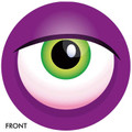 OTB Monster Eyeball Bowling Ball Purple