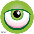OTB Monster Eyeball Bowling Ball Green