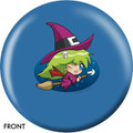 OTB Cute Witch Bowling Ball