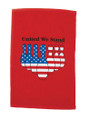 Master Bowling Patriotic Bowling Towel Red