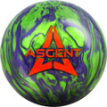 Motiv Ascent Pearl Bowling Ball Green Purple