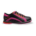 Brunswick Raven Womens Bowling Shoes Black/Pink/Orange