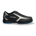Brunswick Stealth Mens Bowling Shoes Black/Platinum Right Hand Wide Width