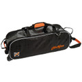 KR Orange Krush 3 Ball Triple Tote Bowling Bag Orange
