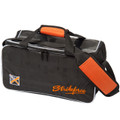 KR Orange Krush 2 Ball Double Tote Bowling Bag Orange