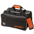 KR Orange Krush 2 Ball Double Tote with Shoe Pocket Bowling Bag Orange