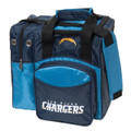 NFL 1 Ball Single Tote Bowling Bag San Diego Chargers