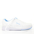 Dexter Raquel IV Jr Bowling Shoes White Blue Girls