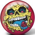Brunswick Skull Face Viz a Ball Bowling Ball