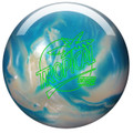 Storm Tropical Storm White Blue Bowling Ball