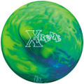 AMF 300 Xtreme Bowling Ball Green Blue Yellow