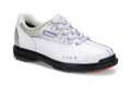 Dexter T.H.E. 9 Womens Bowling Shoes White Silver Croc Wide Width