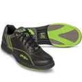 KR Strikeforce Raptor Mens Bowling Shoes Black Lime Wide Width