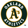 Master MLB Bowling Towel Oakland A&#039;s