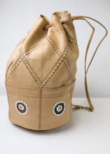Leather Handbag From Morrocco