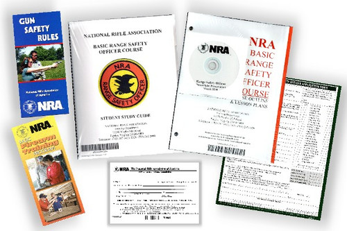 NRA Chief Range Safety Officer Packets