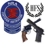 NRA Instructor Course (Pistol >> AND << Home Firearm Safety Instructor)
