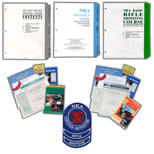 NRA Instructor Packets for Rifle and Shotgun