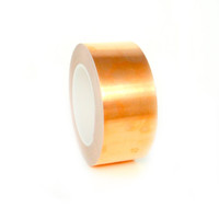 Copper Foil Tape with Acrylic Adhesive, Copper Foil Tape, Acrylic Adhesive Copper Tape, All Sizes from TapeJungle.com