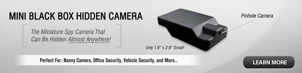 Mini Black Box Hidden Camera