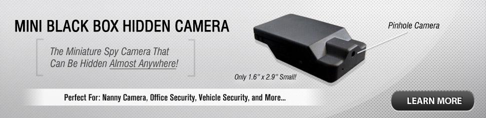 Mini Black Box Hidden Camera