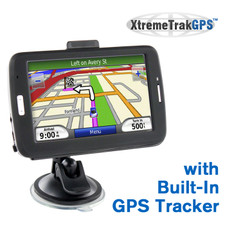 XtremeTrakGPS XT-500 Navigation Screen GPS Tracker
