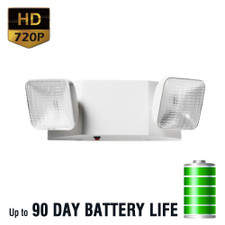 720P HD Emergency Backup Light Hidden Spy Camera