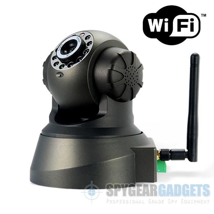 720p hd wifi internet streaming ptz rotating indoor. Black Bedroom Furniture Sets. Home Design Ideas