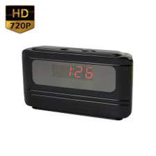 720P HD Motion Activated Mini Alarm Clock Hidden Spy Camera