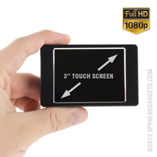 1080P HD Professional Grade Touch Screen Portable DVR