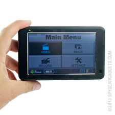 Portable DVR with Touch Screen and 160GB Hard Drive