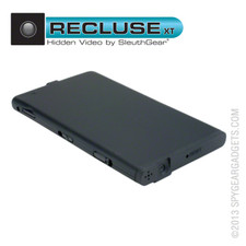 Recluse XT Micro Hidden Spy Camera with Motion Activated Recording and Bonus Memory Card