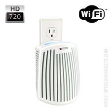 WiFi Internet Streaming Air Purifier Hidden Camera