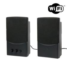 720P HD WiFi Internet Streaming Computer Speakers Hidden Camera