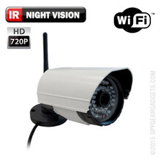 Outdoor WiFi Bullet Internet Streaming Camera