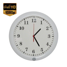 1080P HD Motion Activated Wall Clock Hidden Camera with Up to 6 Month Battery Life