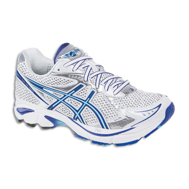 Asics Women Shoes GT 2160 Color White/Electric Blue/Lightning T154N0160 -  Orthoticplus