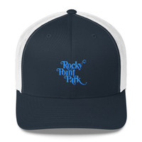 Rocky Point Park Aqua Logo Trucker Cap