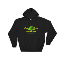 Ocean Skate Roller Rink Dark Color Hooded Sweatshirt