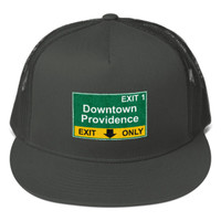Downtown Providence Exit Mesh Back Snapback
