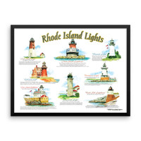 """Rhode Island Lights"" by Frankie Galasso"