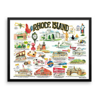 """Rhode Island Icons"" by Frankie Galasso"