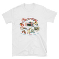 """Rocky Point Memories"" Short-Sleeve Unisex T-Shirt by Frank Galasso"