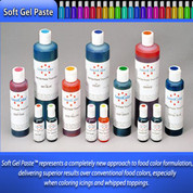 AmeriColor Soft Gel Paste Food Color 383g