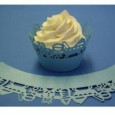 Cupcake Wrappers Baby Blue