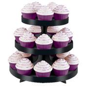 Cupcake Stand Black Borders