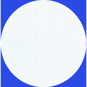 Masonite Boards Round White (5-Pack)