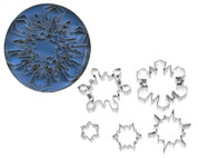 Ateco 5-PIECE SNOWFLAKE CUTTER SET